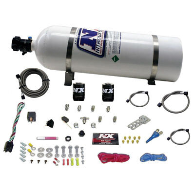 Nitrous Express 20923 15 ALL SPORT COMPACT EFI SINGLE NOZZLE SYSTEM 35 50 75 HP
