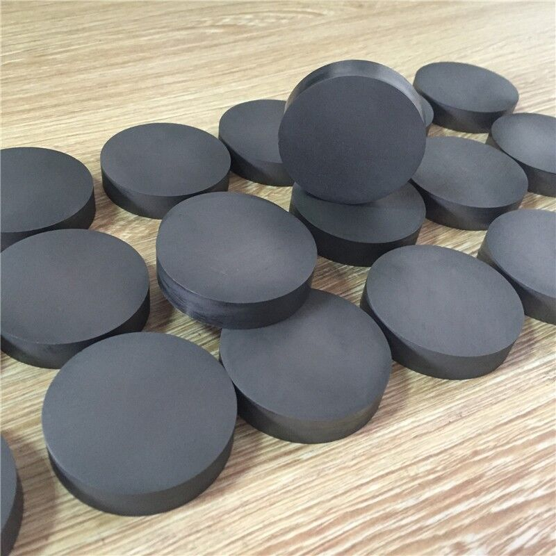 Graphite round block Graphite blocks Graphite wafers High density High purity