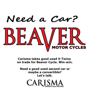 ~Need a Car? ~ Trade in your bike.