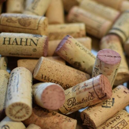 Premium Recycled Corks, Natural Wine Corks From Around the US - 100 Count.