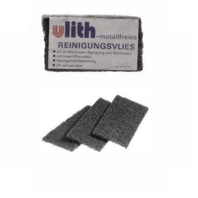 Reinigungsvlies Ulith 60x130mm, metallfrei, Putzvlies zum Löten, VPE = 10 Stk ()