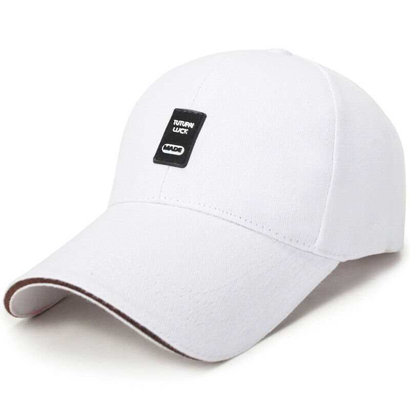 Women Men Solid Baseball Cap Sports Gym Adjustable Snapback Casual Hat Headwear Clothing, Shoes & Accessories