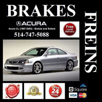 Acura CL - Brakes and Rotors • Freins et Disques