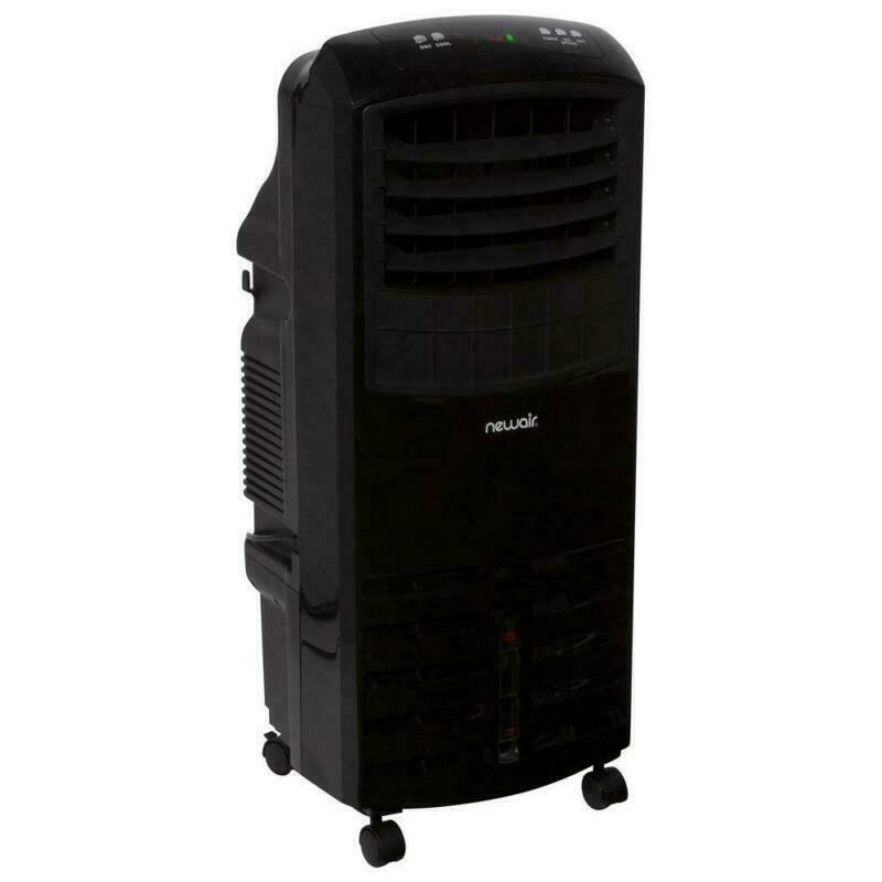 1000 Cfm 3-Speed 2-In-1 Portable Evaporative Cooler  And Fan