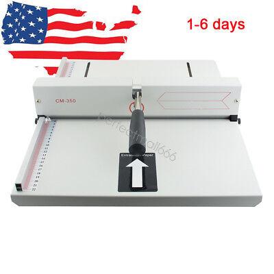 Manual Scoring Paper Creasing Machine Creaser Scorer A4 Card Covers Photos Us