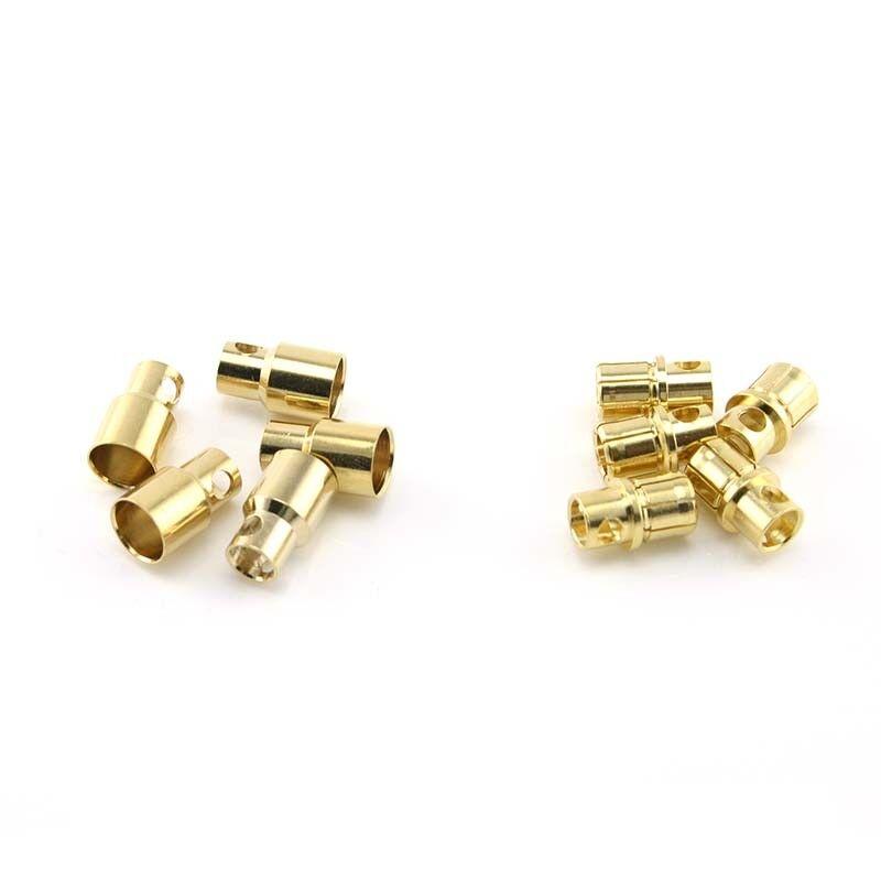 HobbyStar 8mm Bullet Battery Connectors, Plugs 8.0 mm 8 5 SETS USA