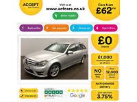 Mercedes-Benz C250 AMG Sport FROM £62 PER WEEK!