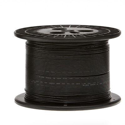 22 Awg Gauge Solid Hook Up Wire Black 1000 Ft 0.0253 Ul1007 300 Volts