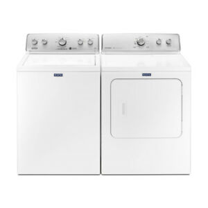One Year Old Maytag Washer and Dryer