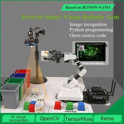 Lobot JetArm Robotic Arm JETSON NANO Artificial AI Visual Recognition Robot