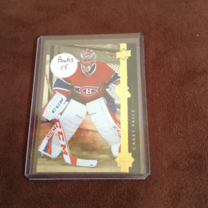 Carey Price - Shinning Stars - Hockey Card