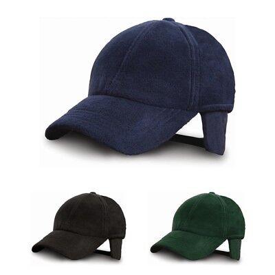 RESULT CAPS - Fleece Winter Cappie - Warm - Baseball Cap Caps - Mütze - New