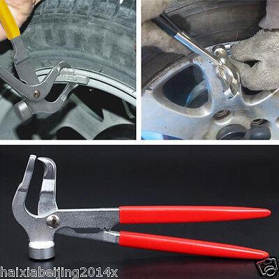 1x Car Wheel Weight Plier Hammer For Tires Balancer Changer Tyre Repair Pliers