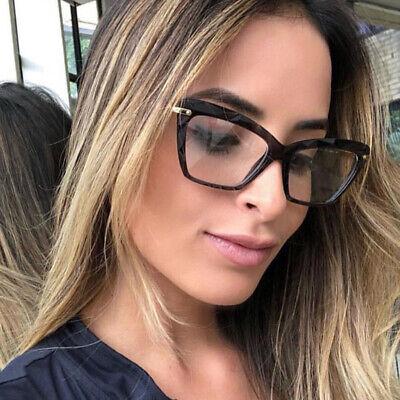 Optical Glasses Retro Cat Eye Metal Frame Clear Lens Women Spectacle Eyeglasses - Cat Eye Frames