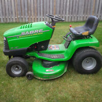 Wanted John Deere with blown engine