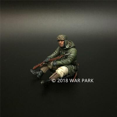 War Park Military Collection German WWII Figure 1/30 Soldier Alloy Model KH044