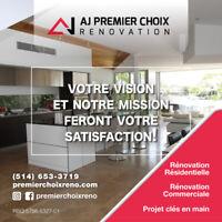 *** Rénovation Residentiel ou Commerciale ***