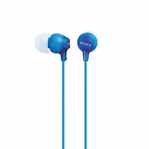 Sony In-ear Headphones (BLUE)