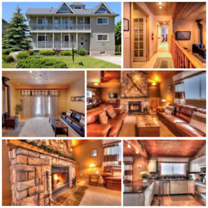 Fall Getaway - Spectacular 5 Bed Blue Mountain Chalet