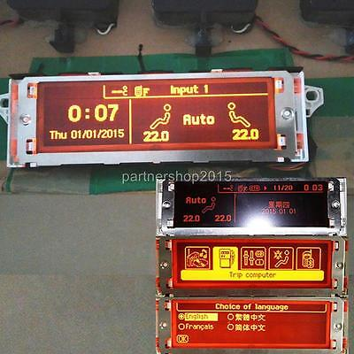 Car monitor RD45 Bluetooth & air conditioner,screen For Peugeot 307 407 408 c5