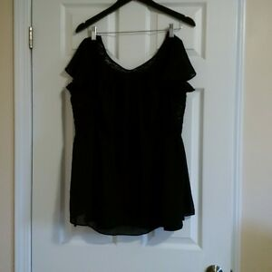 Dressy Black Top, Motherhood Maternity