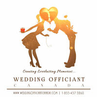 Licensed Wedding Officiant - Toronto/GTA (Starting at $200)