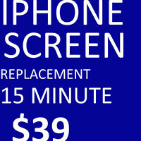 Cheapest in town IPhone 4/4s/s3,6,s5screen repair $39.99
