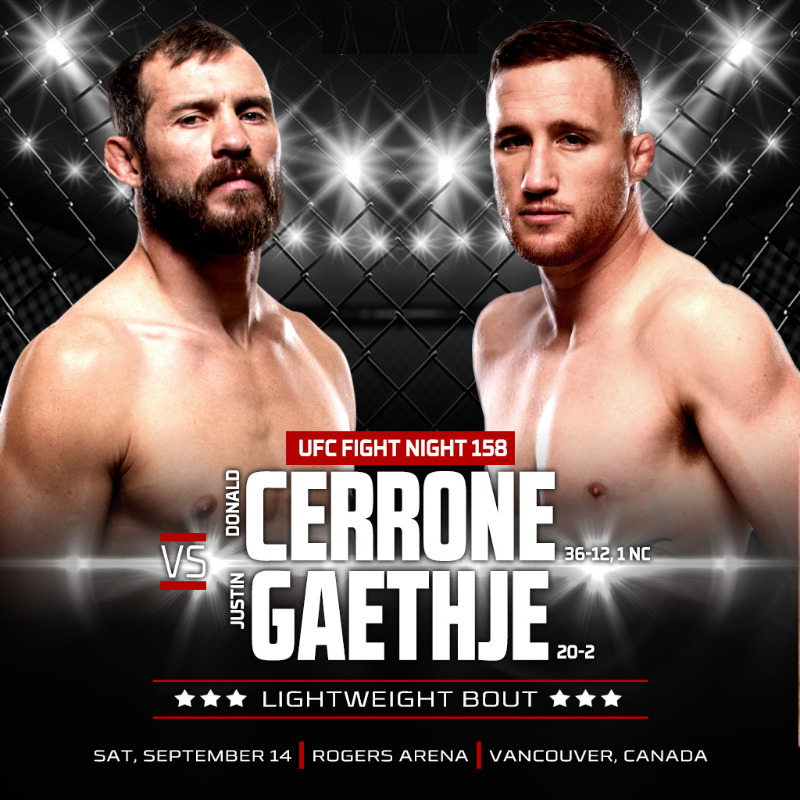 UFC Fight Night: Donald Cerron...