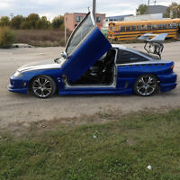 CUSTOM PAINT AND BODT KIT LAMBO DOORS