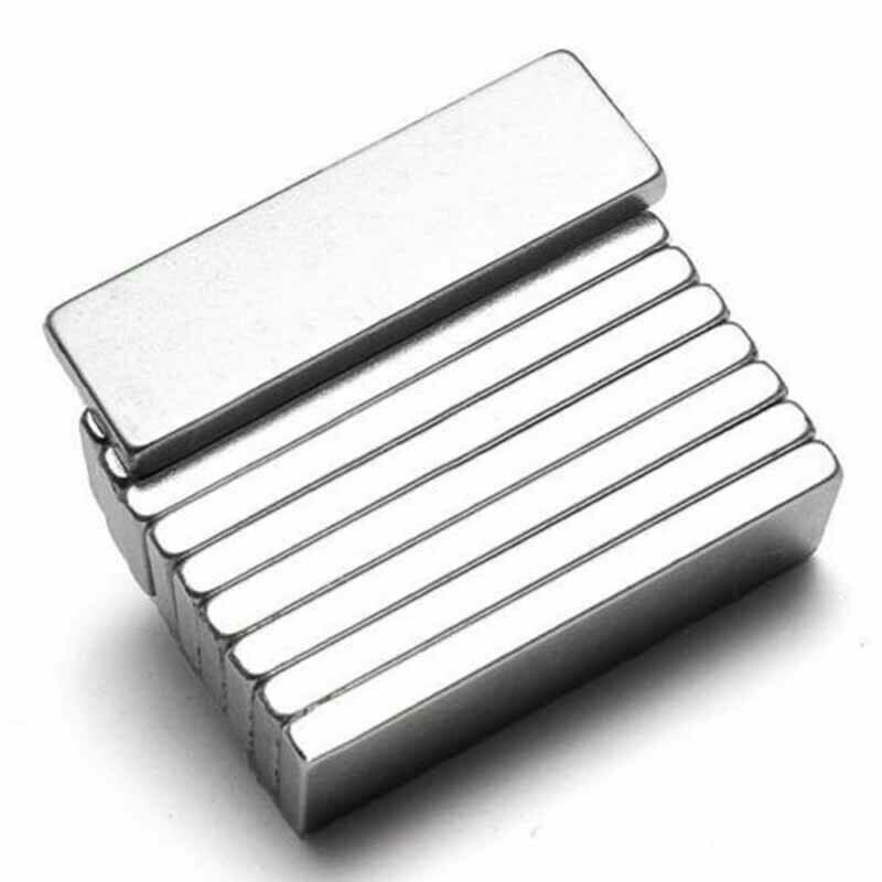 10pcs Super Strong Neodymium Block Magnets N52 Rare Earth Re