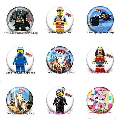 Lego Movie Badges