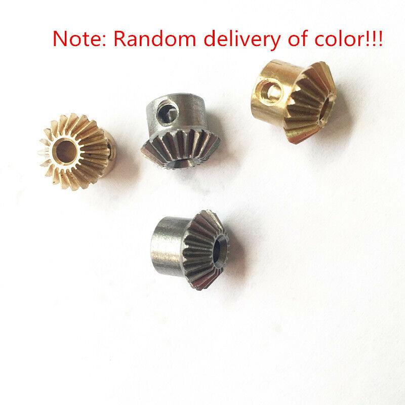1PC 0.5Modulus 20 Teeth Bore 3mm Brass Umbrella Tooth 90° 1:1 Pairing Bevel Gear