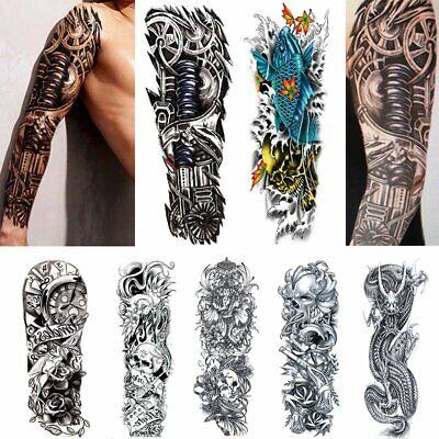 7 Stil Einmal Tattoo Arm Körper Temporary Tattoos Aufkleber Hauttattoo Schmuck
