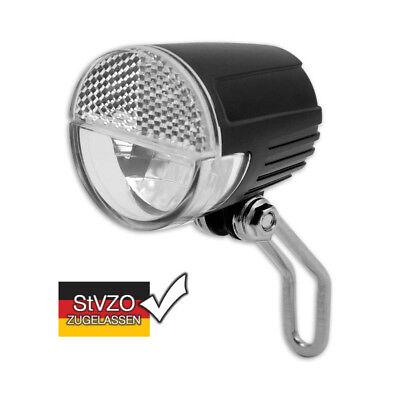 LED Fahrrad Scheinwerfer E-Bike 6V-36V Akku Reflektor STVZO K1548 (Akku-scheinwerfer)