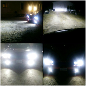 L.E.D. HEADLIGHT KITS - CHEAPEST IN THE TOWN!!!
