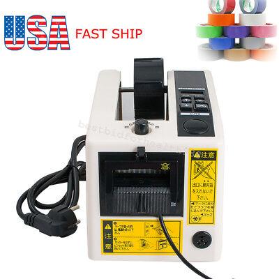 Electric Automatic Tape Dispensers Adhesive Tape Cutter Cutting Machine 110v Usa