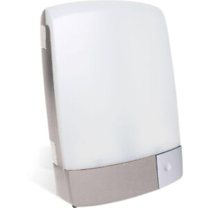 Carex Sunlite Bright Light Therapy Lamp, Silver - NEW