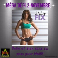 MÉGA DÉFI 21 DAY FIX ET 21 DAY FIX EXTREME: DÉBUT 2 NOVEMBRE