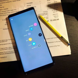 BLUE Samsung Note9 128GB 2 Year Mobile Care ONLY $899