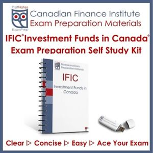 IFIC Investment Funds Institute Canada Course 2019 Exam Prep Dar