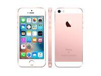 iPhone se 16gb rose gold unlocked boxed