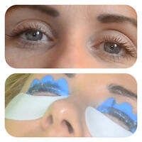 Semi permanent Keratin eyeLash lift/curl for natural lashes