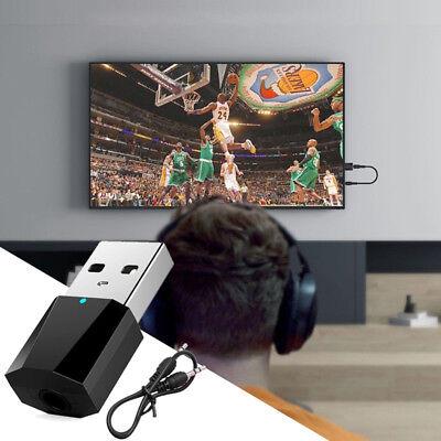 Bluetooth 4.2 A2dp Stereo Audio Adapter Transmitter Geräte 3,5mm Stecker für TV