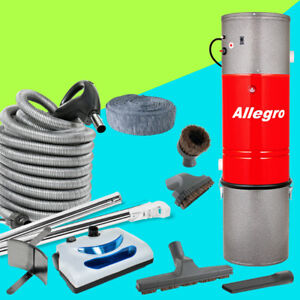 COMPLETE Central Vacuum Package LOADED WITH ACCESSORIES !!!