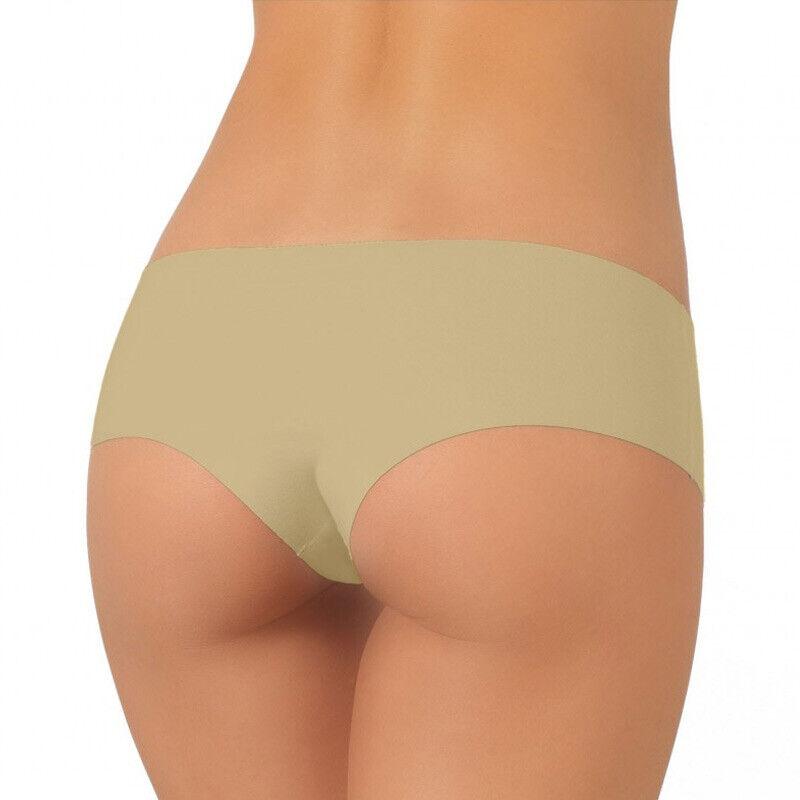 6er Pack Damen Panty Hipster Nahtlos LASER CUT Bikini  Baumwolle ohne Nähte