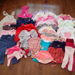 Huge lot of girls clothes 9-24m - GREAT CONDITION!