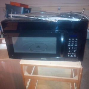 Samsung Over Stove Microwave Kitchener / Waterloo Kitchener Area image 1