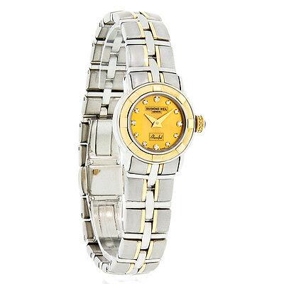 Raymond Weil Parsifal Diamond Mini Ladies Two Tone Swiss Watch 9640-STG-10081