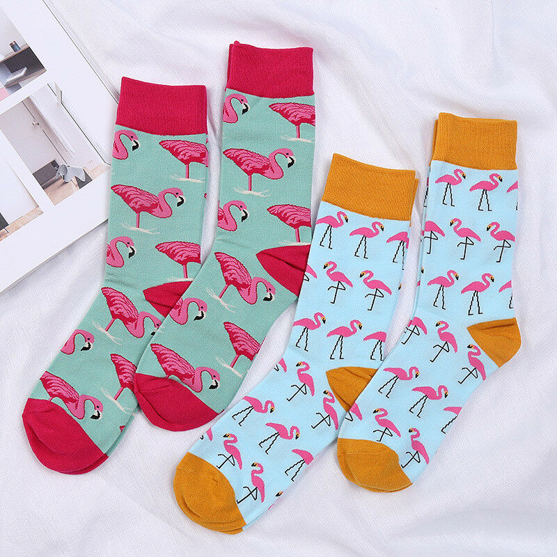 A Bull Dozer Crew Sock Cotton Casual Solid Socks Ladies