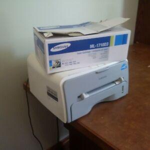 samsung printer with unopened cartridge